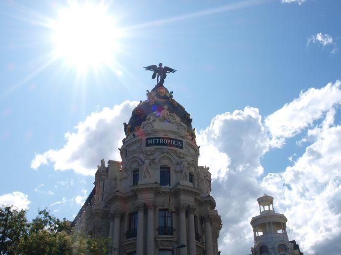 Calle Alcala Madrid