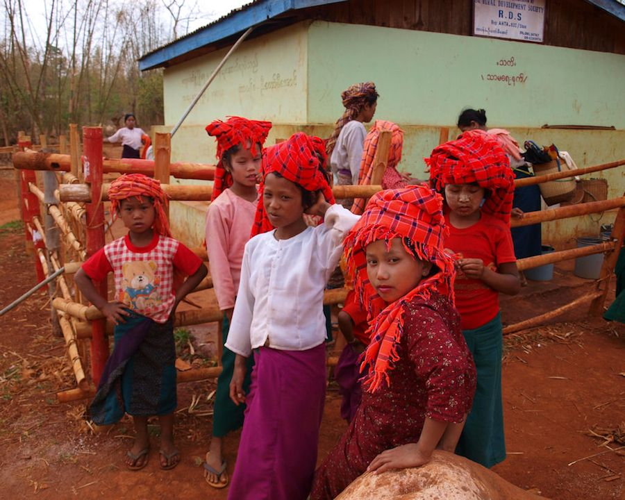 Tribus Myanmar