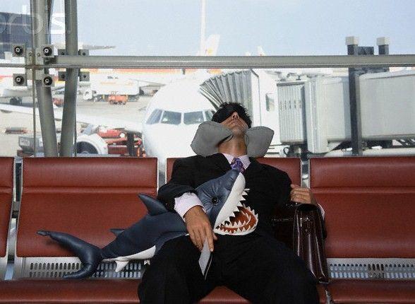 Durmiendo en un aeropuerto