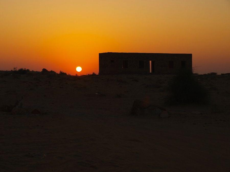 Desierto del Thar dunas de Sam