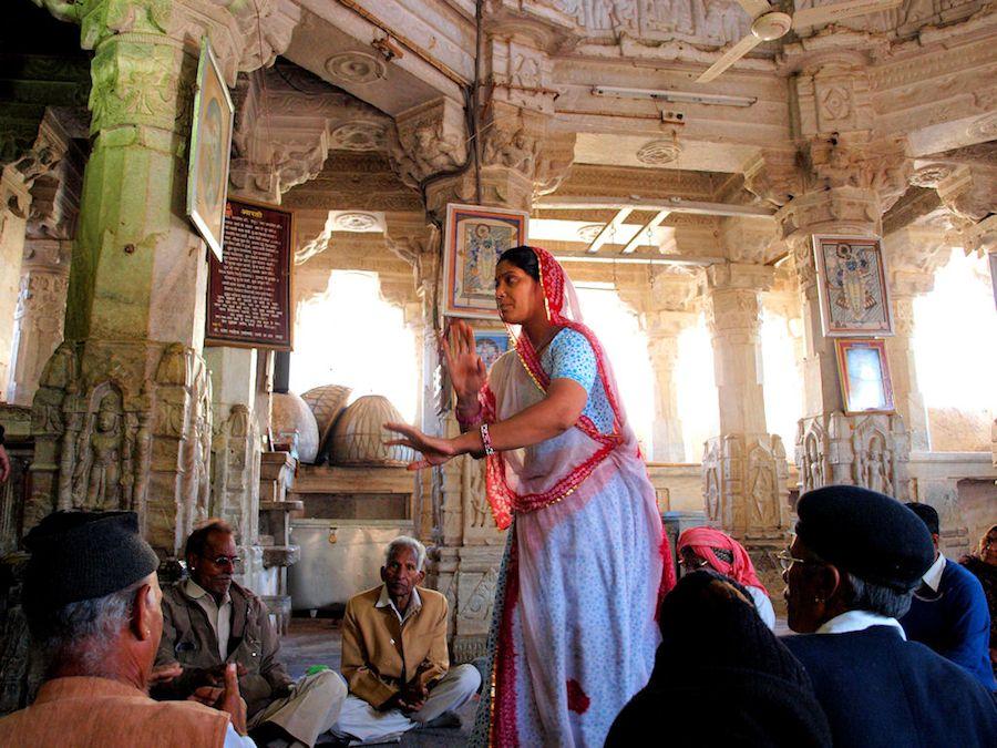 Bailes Templo Jagdish Udaipur