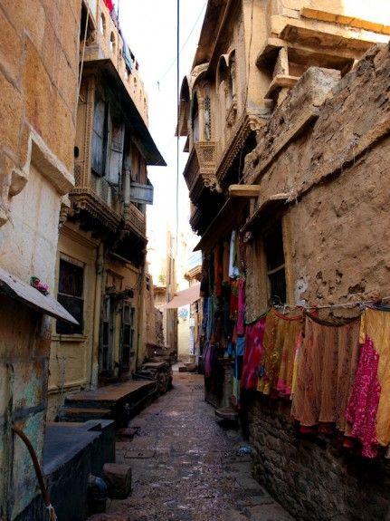 Fuerte Jaisalmer calles