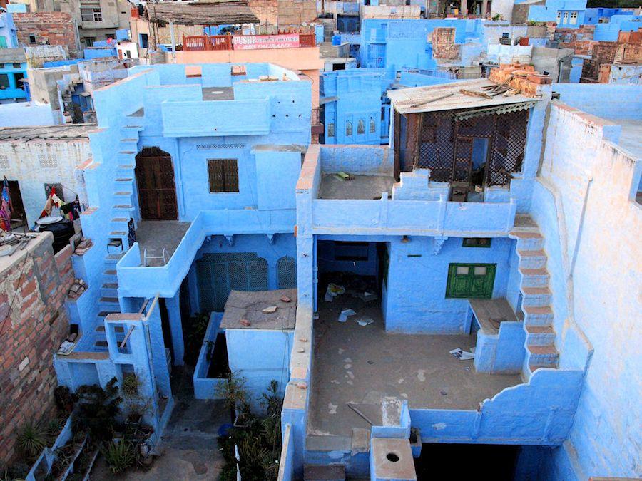 La Ciudad Azul de India