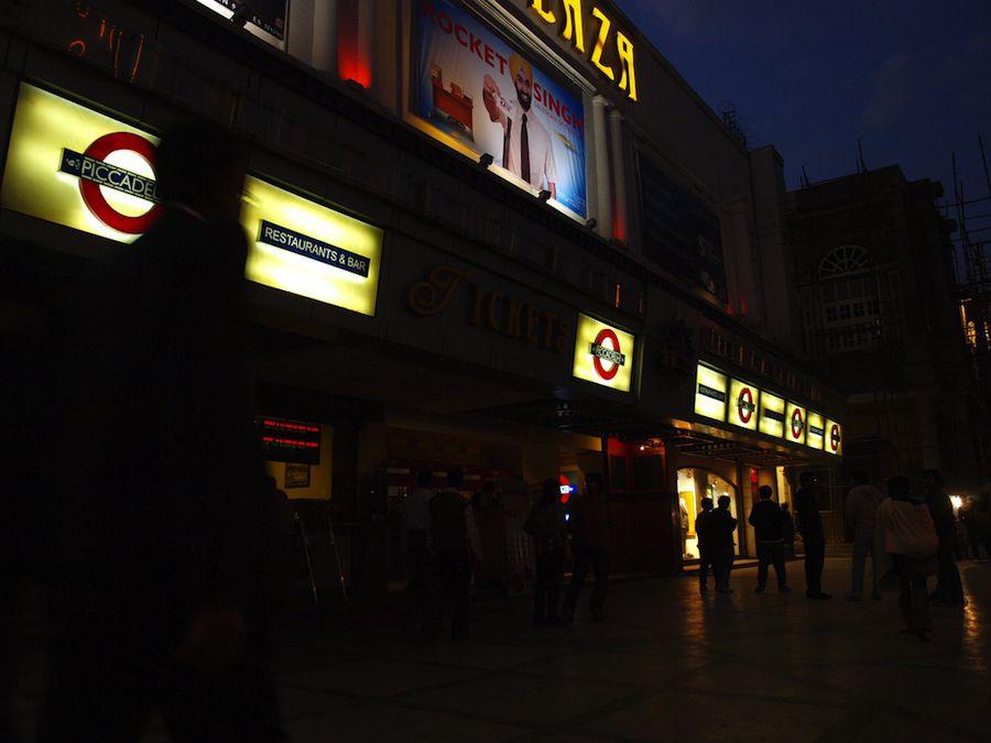 Cines en Connaught Place