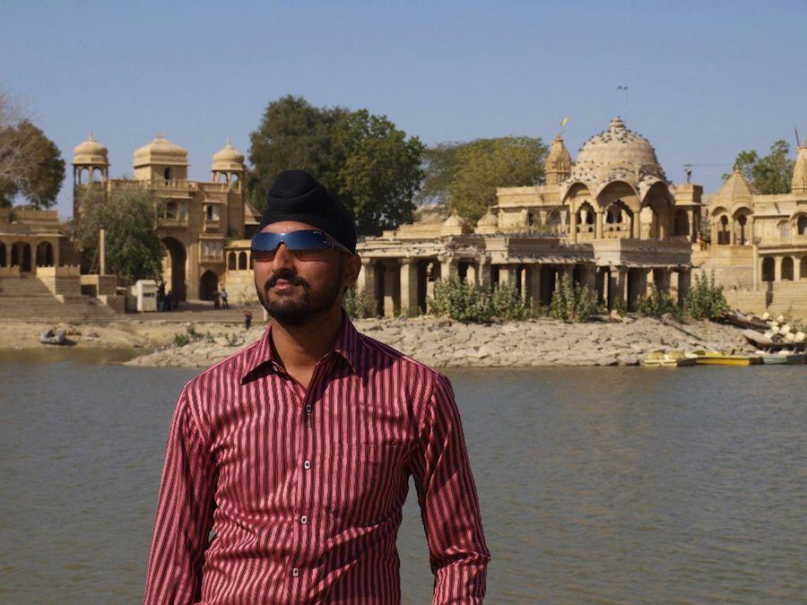 Mi host sij en Jaisalmer