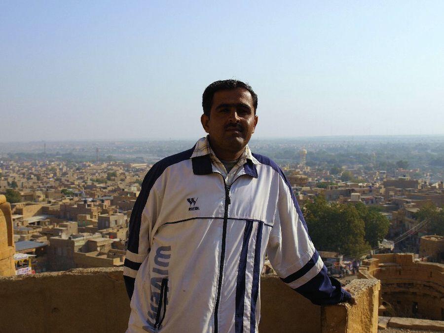 Vista de Jaisalmer desde el fuerte