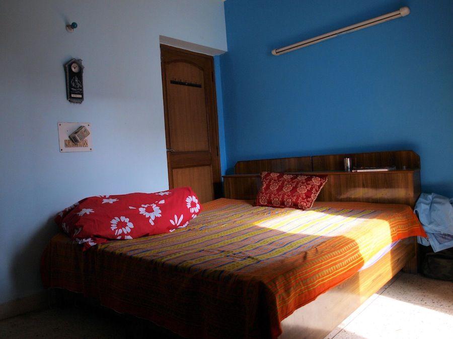Habitacion couchsurfing en Delhi