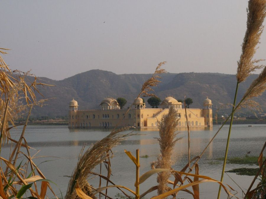 Jal Mahal, Palacio sobre las Aguas, Rajasthan