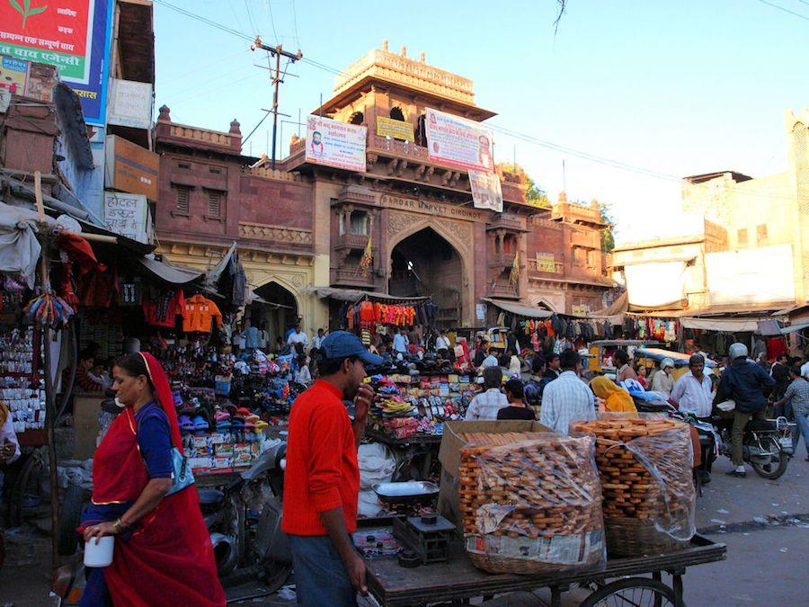 Jodhpur Market India