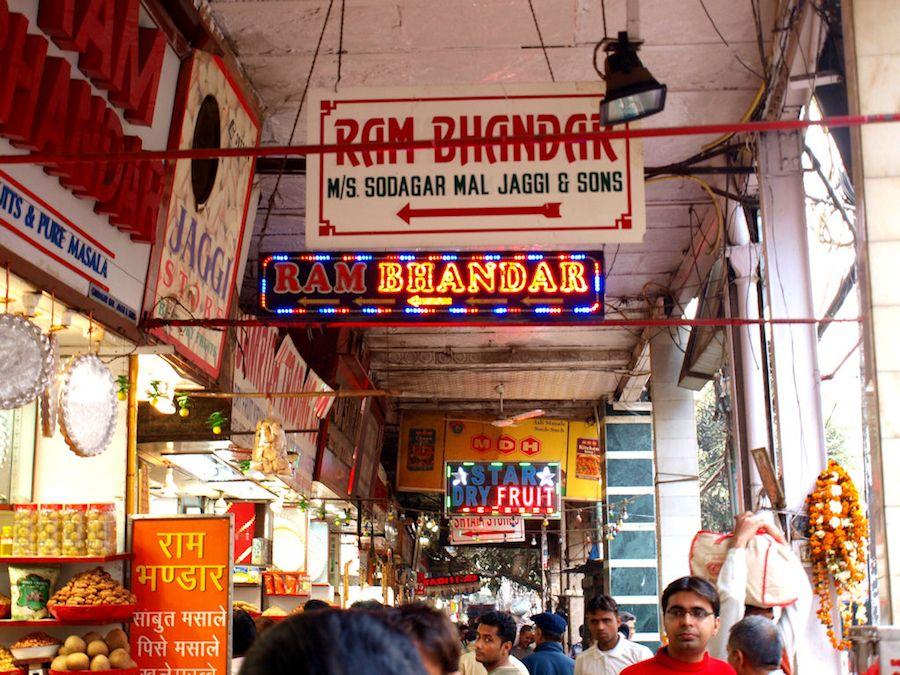 Spice market Delhi
