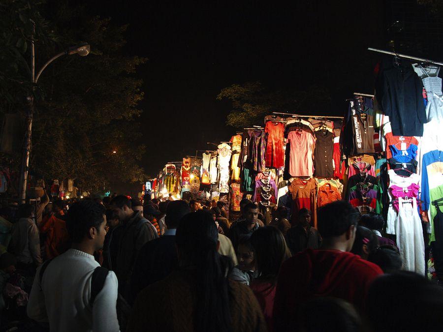 Janpath market Delhi