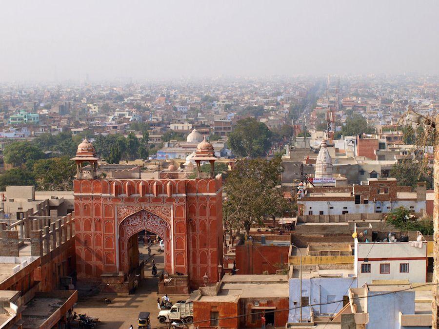 Ciudad Rosa de Jaipur, India