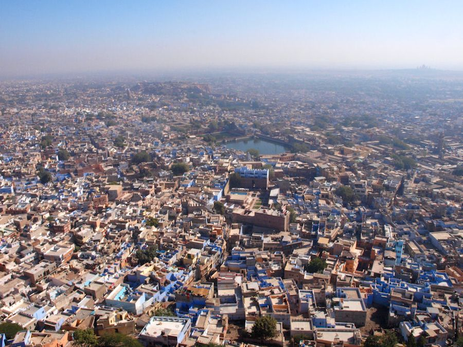Jodhpur Fort Panoramic View