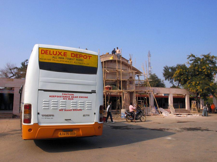 Parada de servicio en India