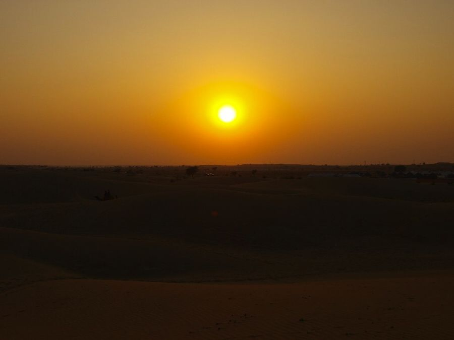 Sunset Jaisalmer Sam dunes