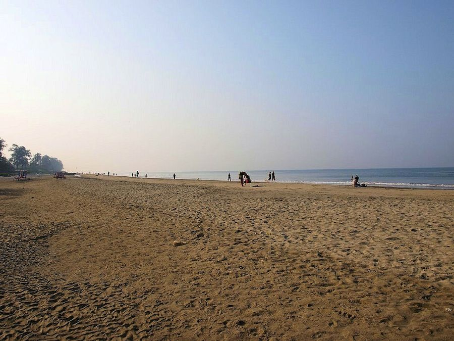 Amanecer en Goa, India