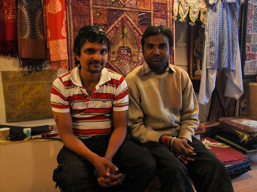 Vendedores de Udaipur, India