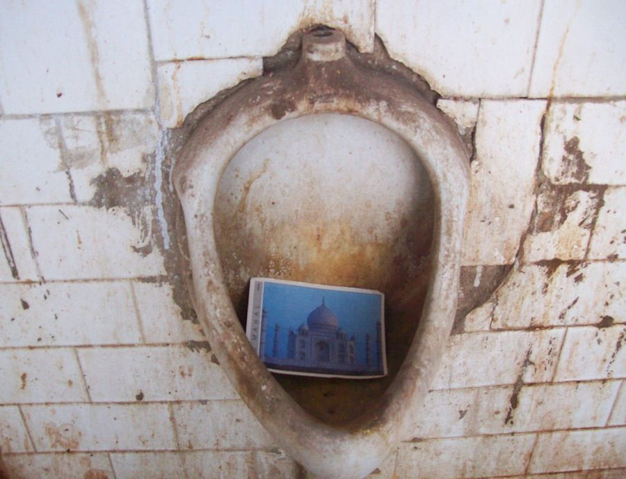 Baño publico India Pushkar