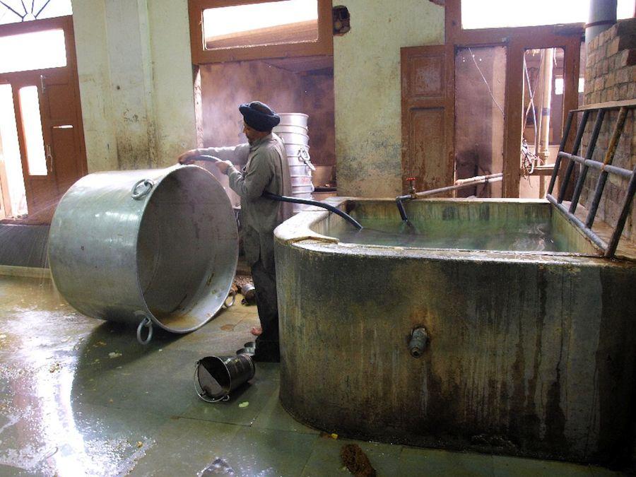cocina templo dorado amritsar