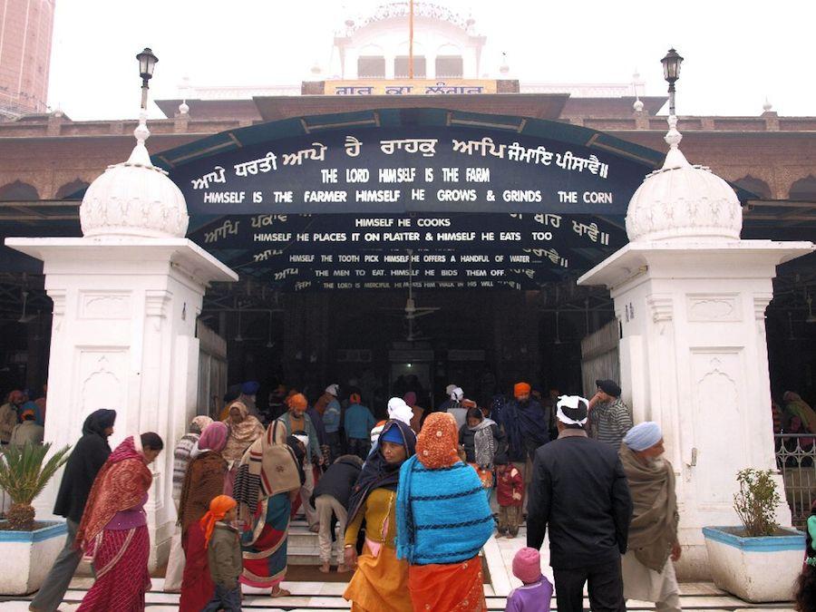 comedor templo dorado india