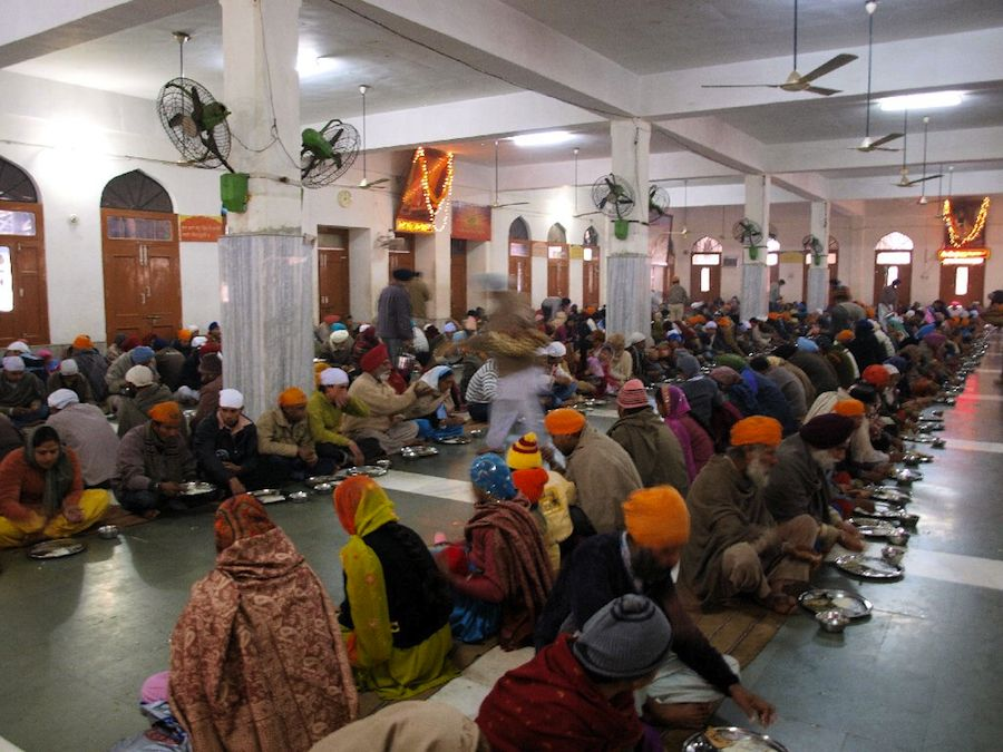 comedor templo sikh sij india