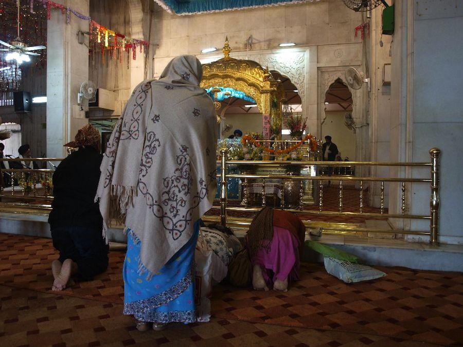 oraciones templo sikh sij delhi