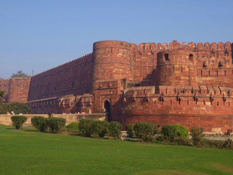 Visita al Fuerte Rojo de Agra, India