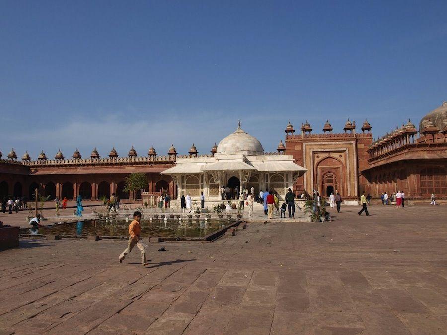 Visita a Fatehpur Sikri, Agra