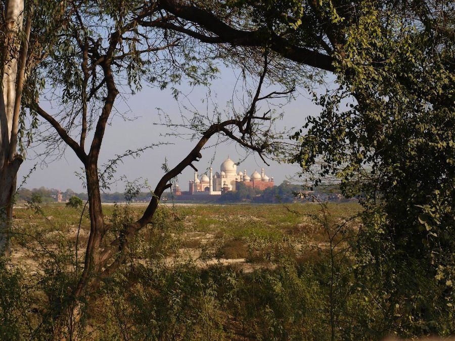 Taj Mahal, paseo por alrededores de Agra