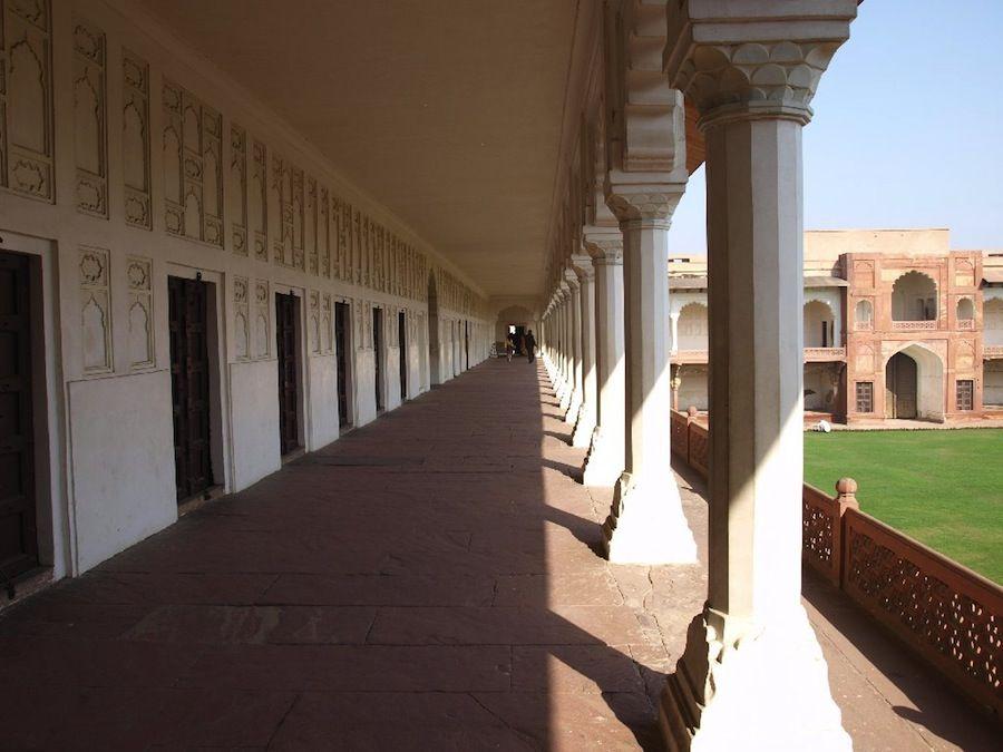 Visitando el Fuerte Rojo de Agra
