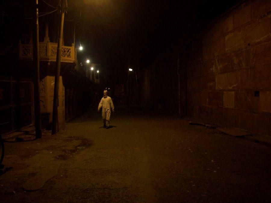Agra de noche, India