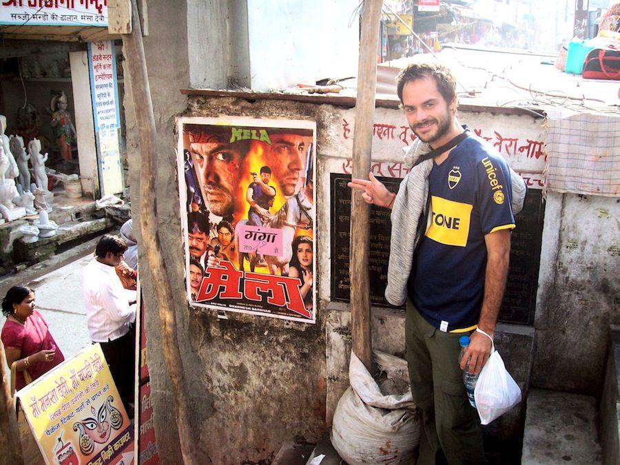 Carteles cine en India