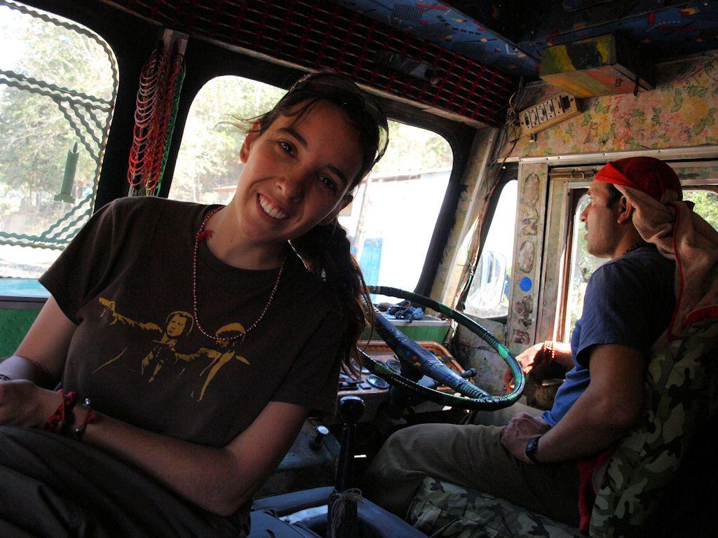 autostop viaje Nepal transporte phokara