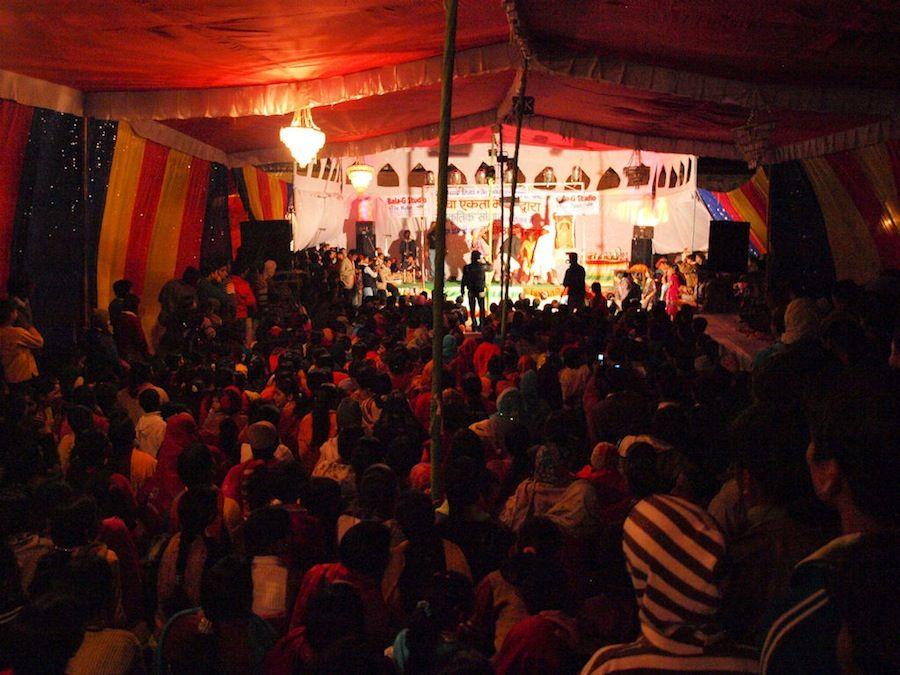 Viaje a India: espectaculos