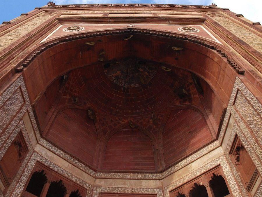 jama masjid puerta fatehpur sikri