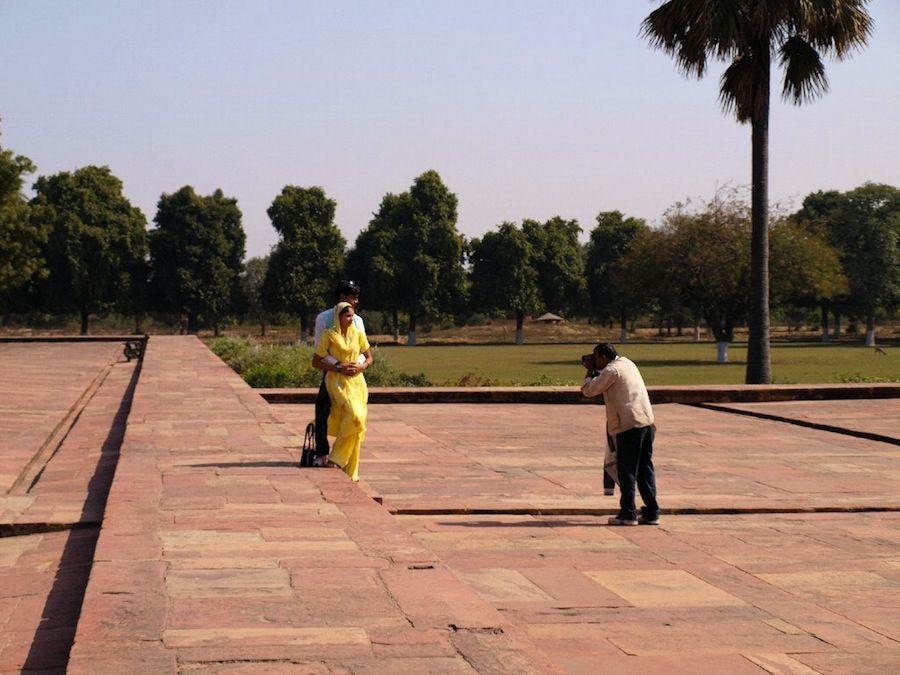 Novios y recien casados indios, India