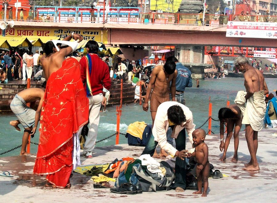 Ganges Haridwar India