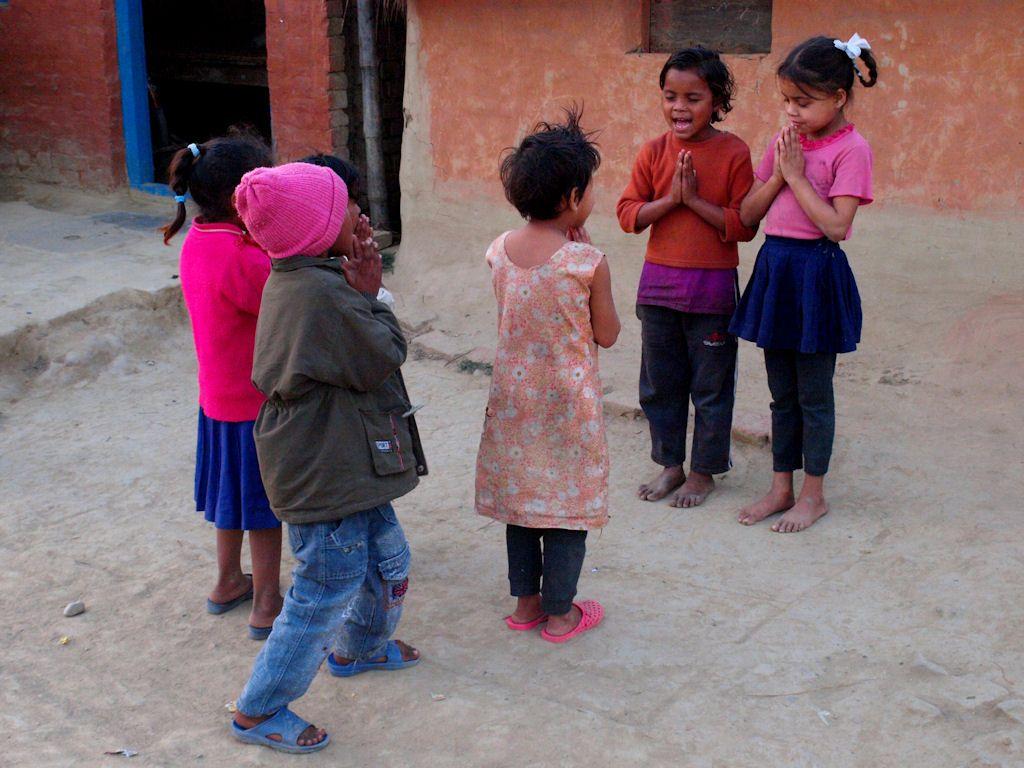 escenas nepal viaje lumbini