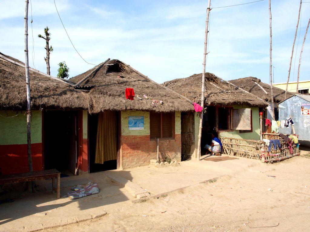 Lumbini Nepal village pueblo