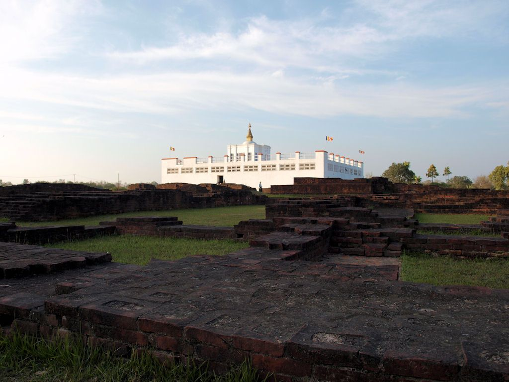 Viaje a Nepal nacimiento Buda Lumbini