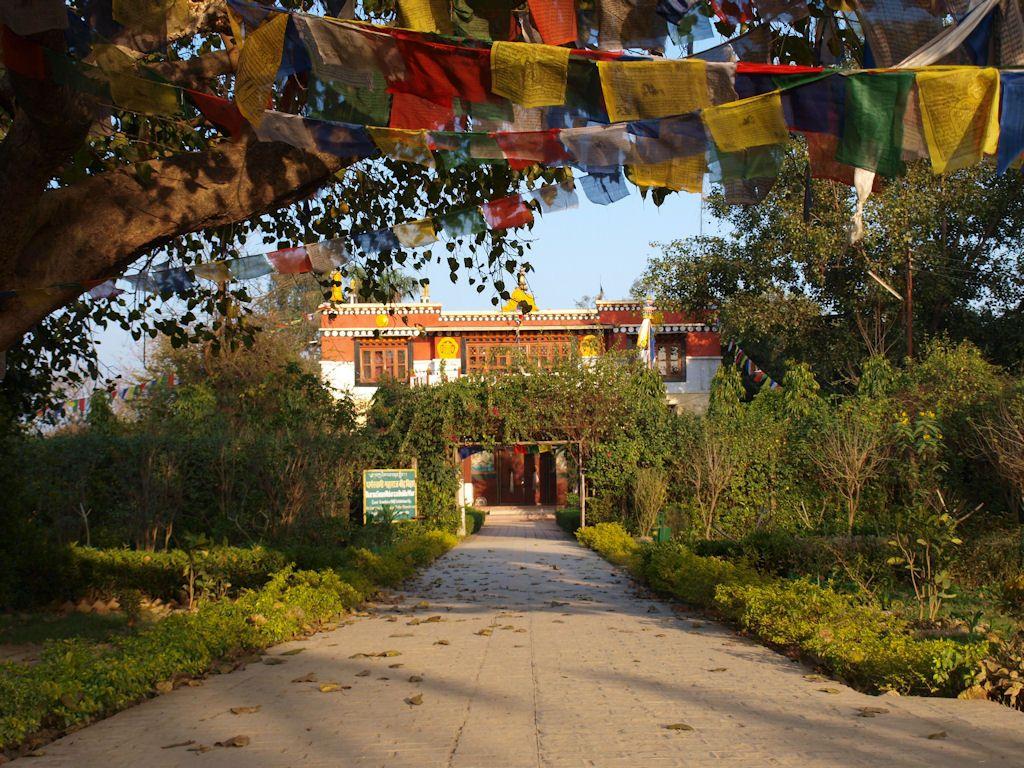 donde dormir en Lumbini Nepal