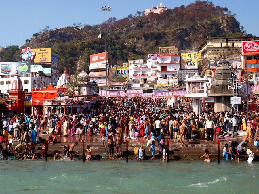 Kumbha Mela en Haridwar 2010
