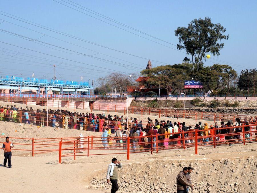 Viajar al Kumbh Mela en India