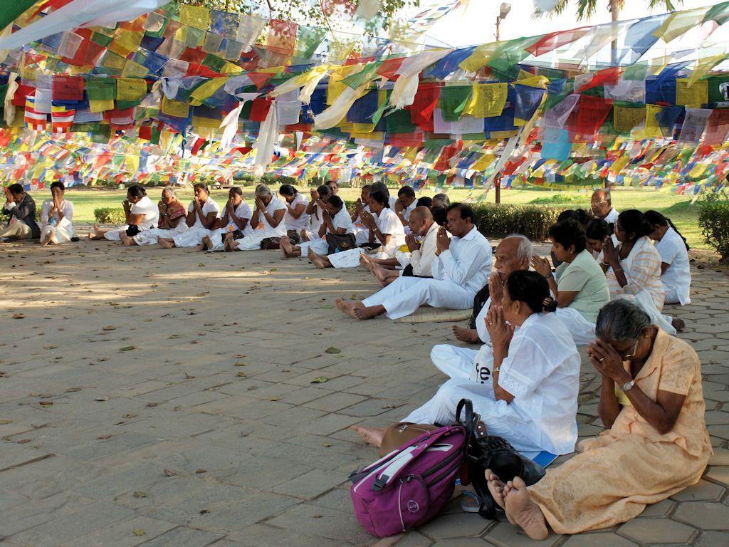 Centro de peregrinacion nacimiento Buda Nepal