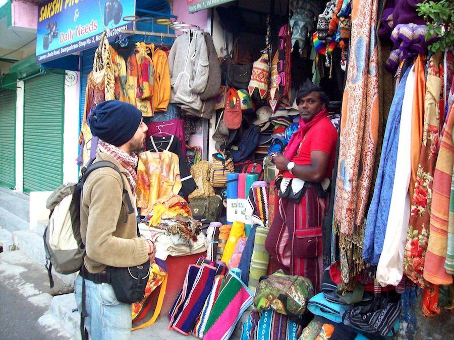 Rishikesh, tienda, India