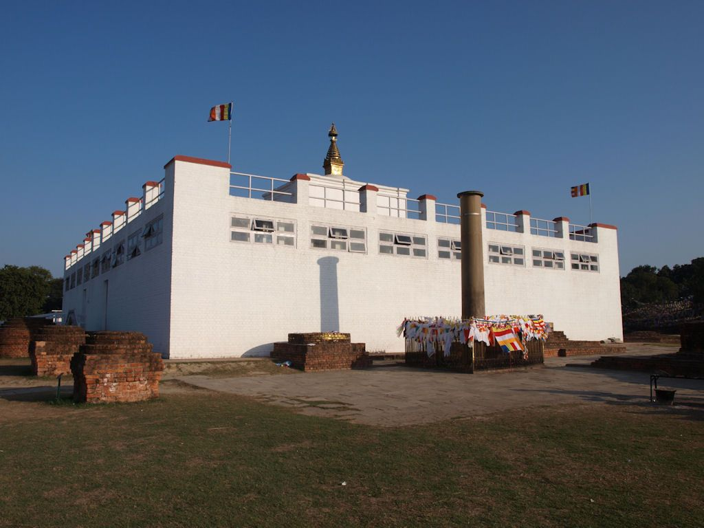 pilar ashoka buda nepal lumbini templo