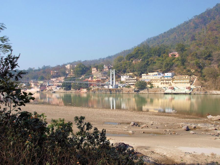 Rishikesh entre montañas