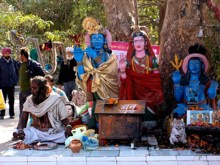 Sadhus y dioses de India