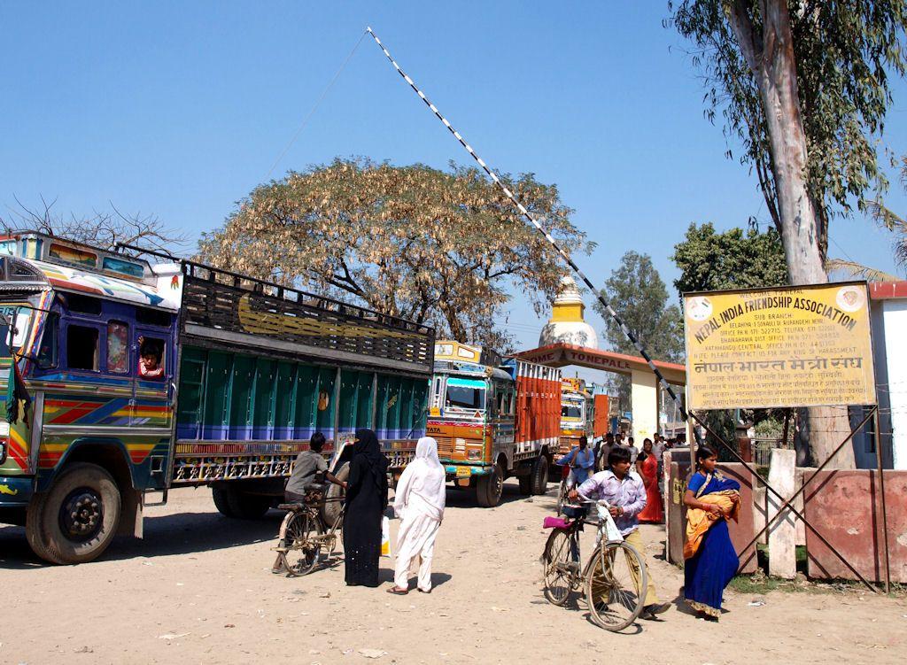 India Nepal border Sunauli