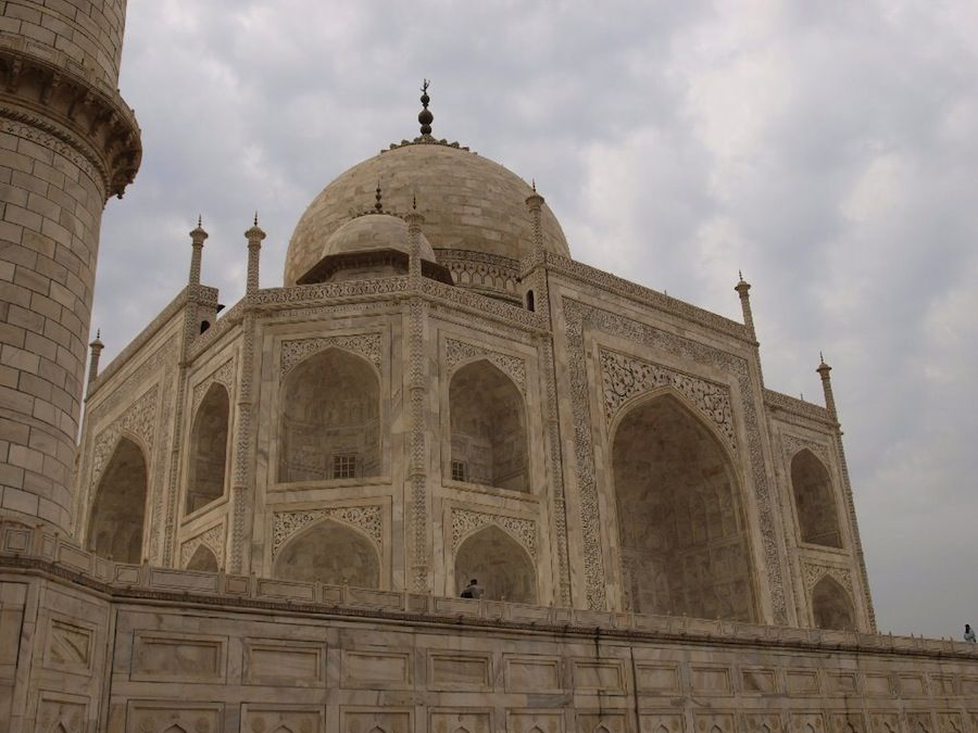 El Taj Mahal de cerca